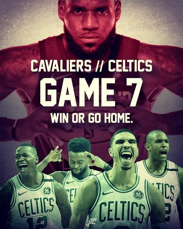 Game 7 Cavaliers Celtics