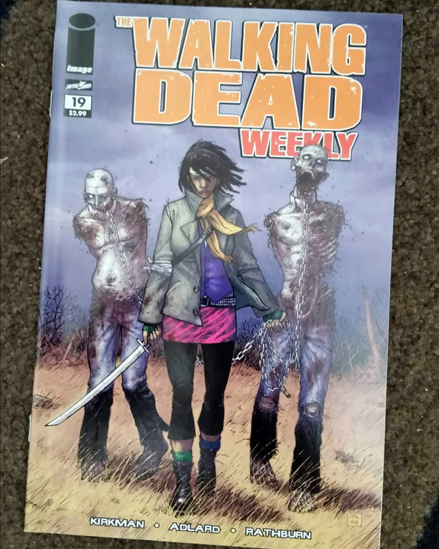 The Walking Dead Weekly 19 Cover