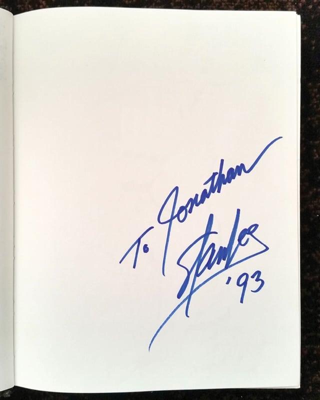 Stan Lee Autograph 93