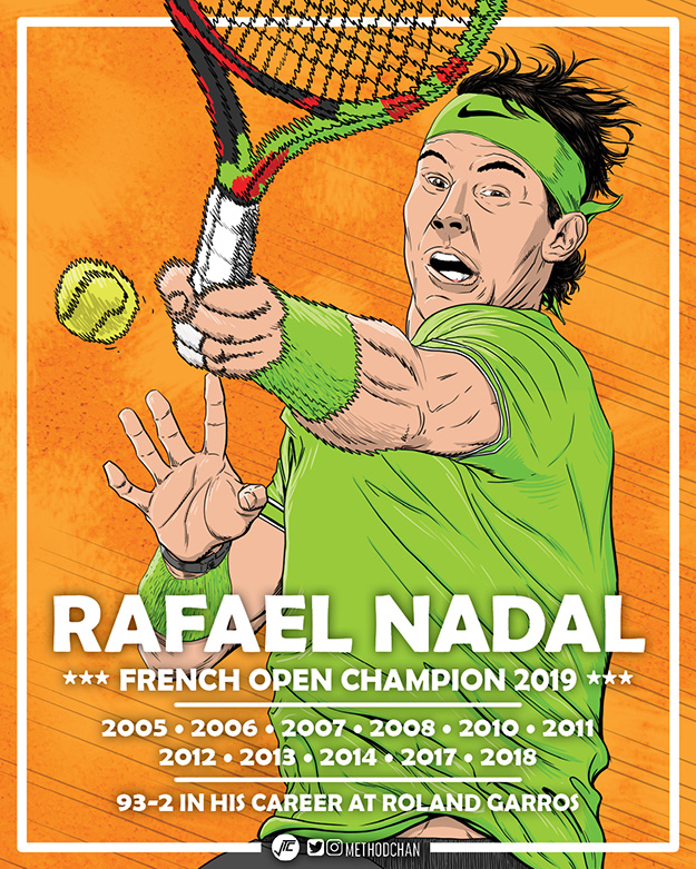 Nadal French Open Champ 2019