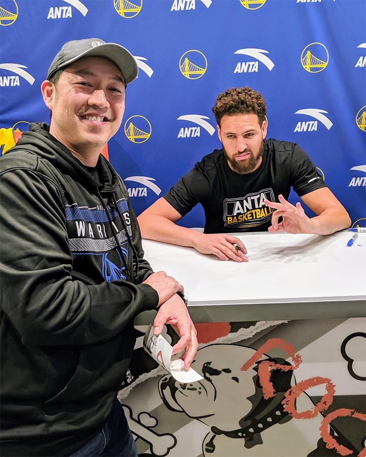 Klay Signing p1