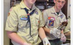 SGT Tin Hut Salutes Scouting Programs