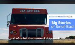 Facebook Spotlights Tin Hut BBQ on Veterans Day
