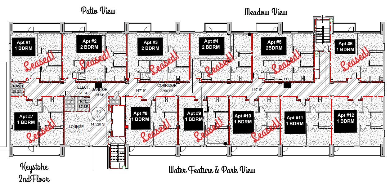 2nd Floor Apt layout