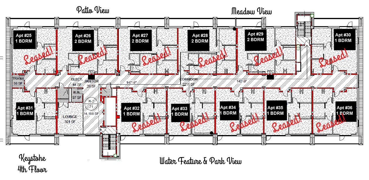 4th floor layout