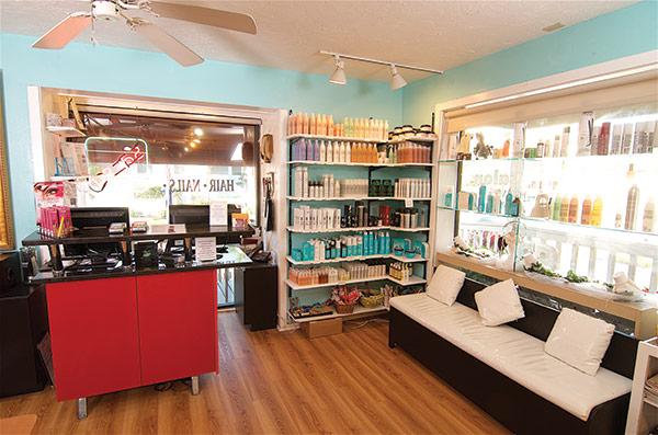 nail and hair products