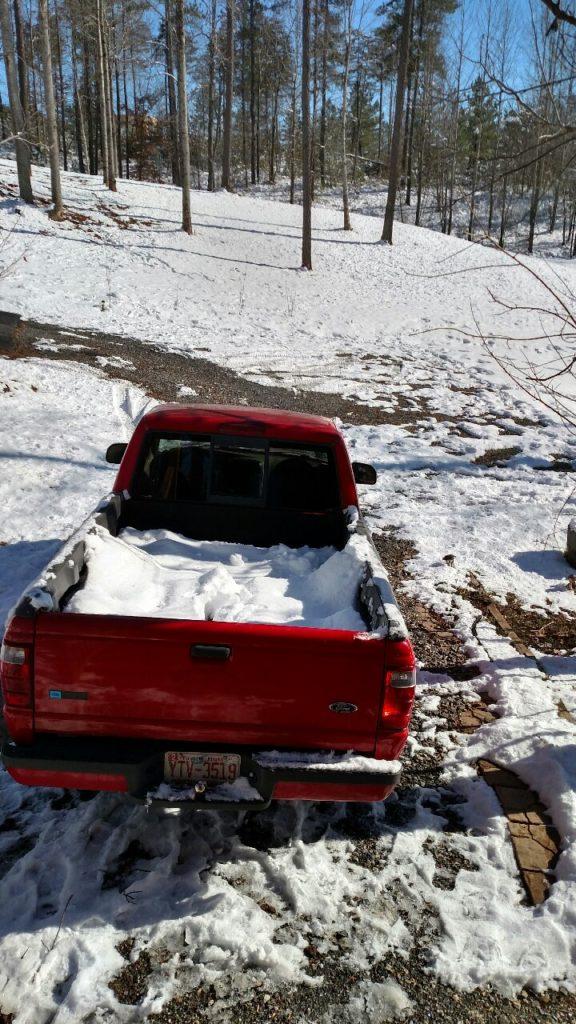 1-7-17 Truck in Snow