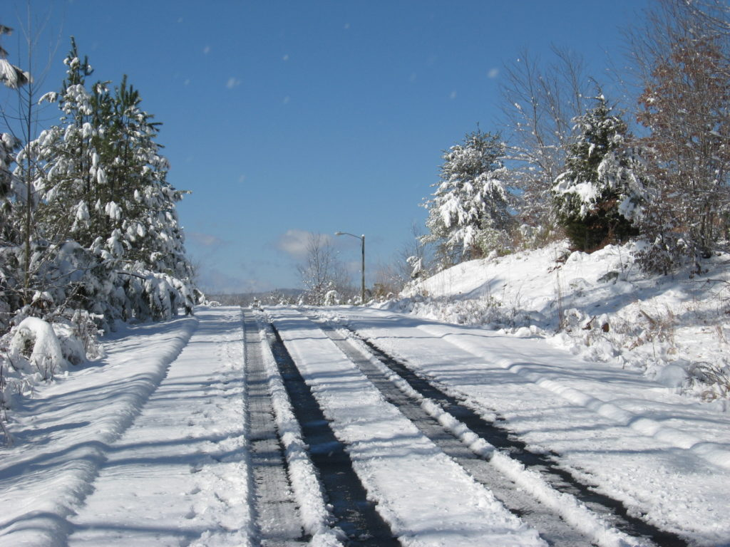 HR Snow Road