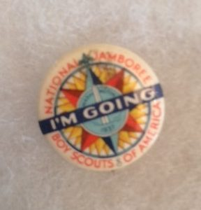 1937 Boy Scout Jamboree Pinback