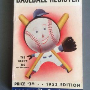 Baseball Register 1953