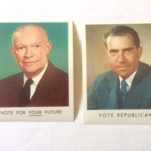 Ike and Nixon Large Campaign Stamps