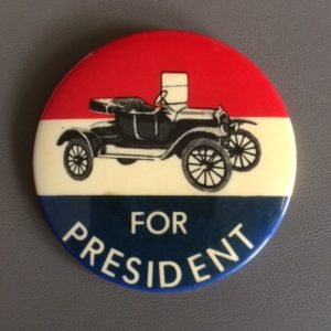 Large Gerald Ford for President Pinback 1976