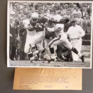 SF Giants vs Chicago Bears October 25 1959 photo 2