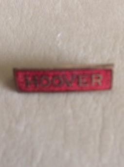 Hoover for President Name pin 1928