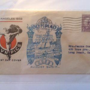 1932 Los Angeles Olympics envelope