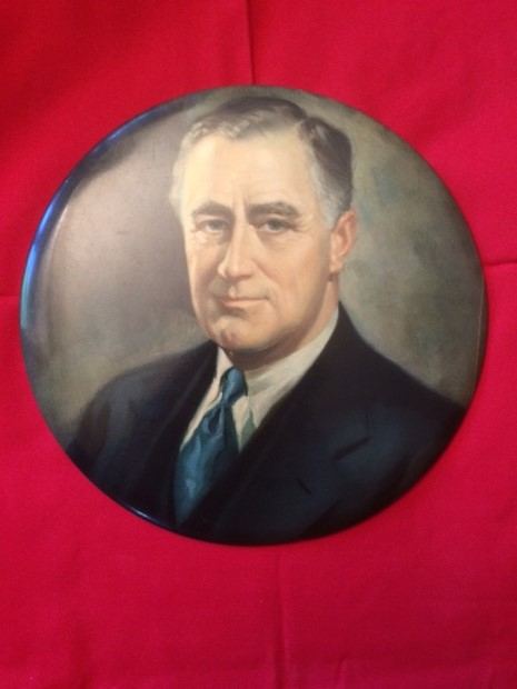 Large 9 inch FDR display front