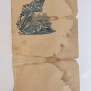 civil war patriotic stationary