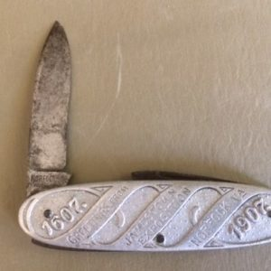 1907 Jamestown Exposition Knife front