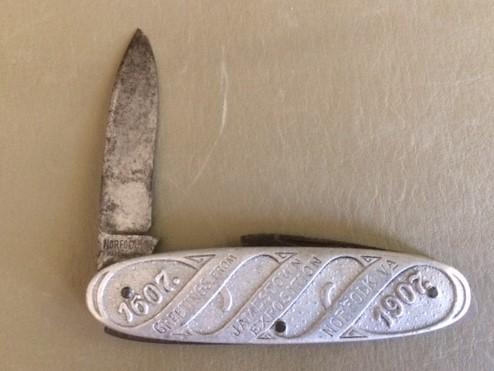 1907 Jamestown Exposition Knife front
