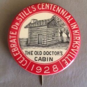 1928 Kirksville Missouri Pinback