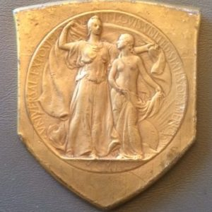 1904 St Louis Exposition Grand Award Medal front