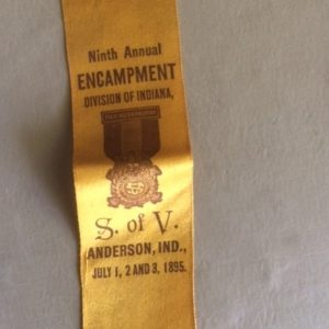 1895 GAR Sons of Veterans Ribbon