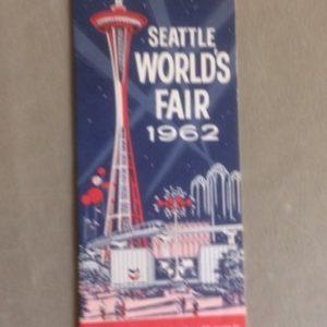 1962 Seattle Worlds Fair Brochure