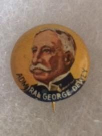 Admiral George Dewey Yank Pinback