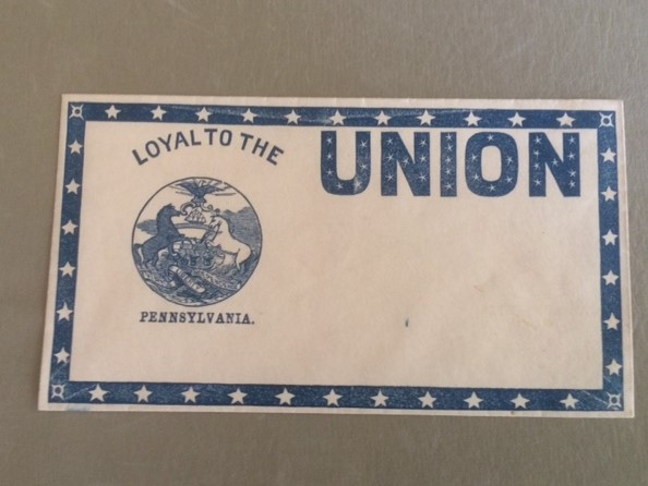 Loyal to the Union Pennsylvania Civil War Cover