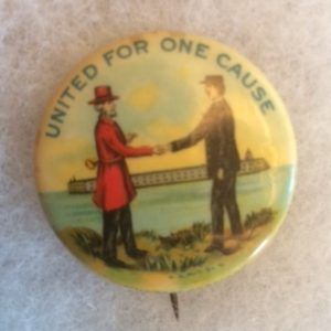 United for One Cause Pinback