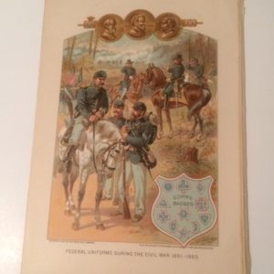 1897 Print of CW Uniforms