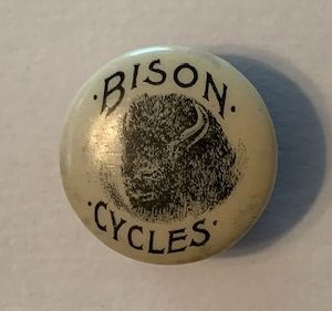 Bison Bicycle stud 1890s