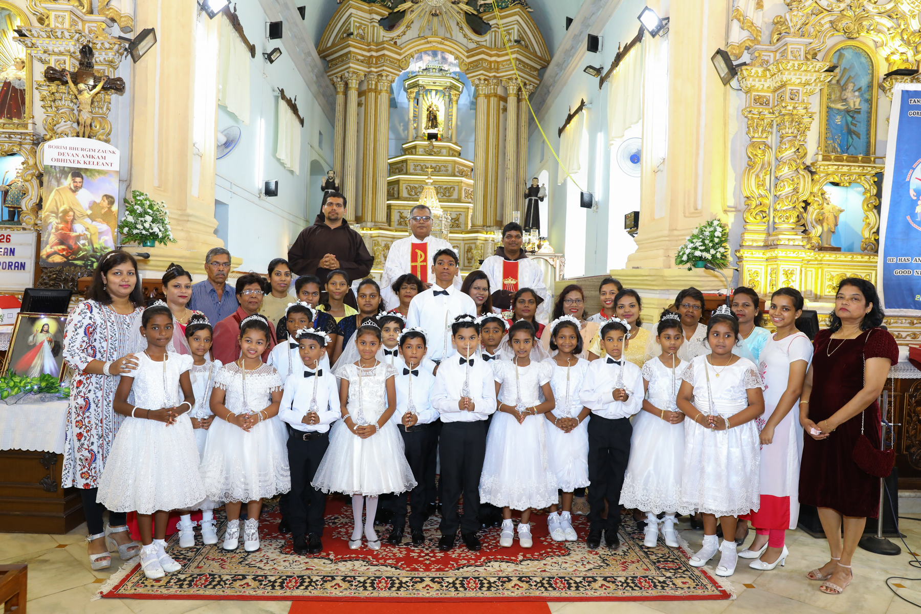 Holy Eucharist 2019 St Diogo Church