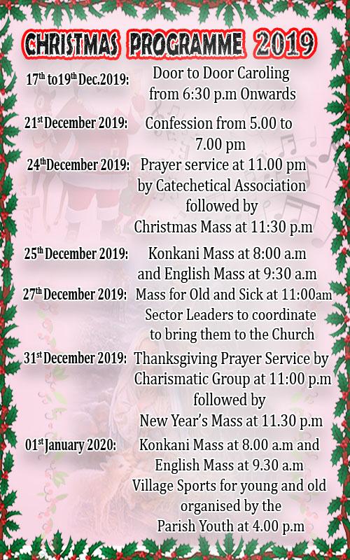 Christmas Programme SDC 1