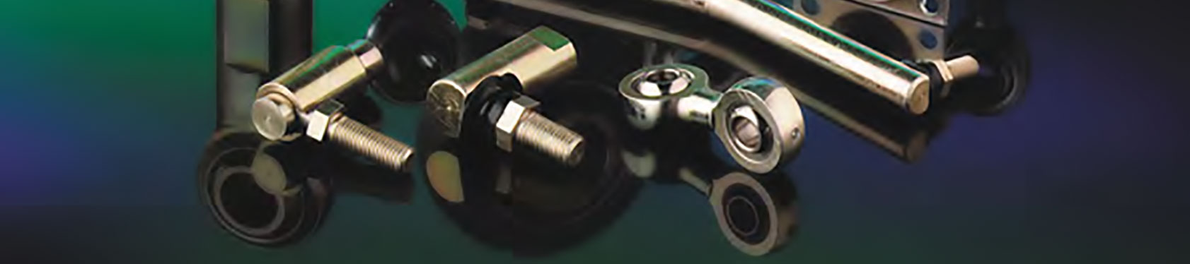 Cablecraft Motion Controls R-G, S, SS, SC and SR-G ball joints feature a two-component ball joint and pre-lubricated socket