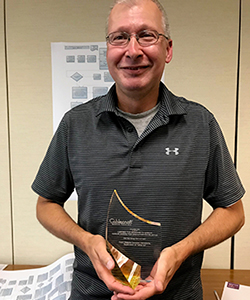 """Brett Gearhart is the winner of Cablecraft's first annual """"Message to Garcia Award for Execution Excellance"""""""