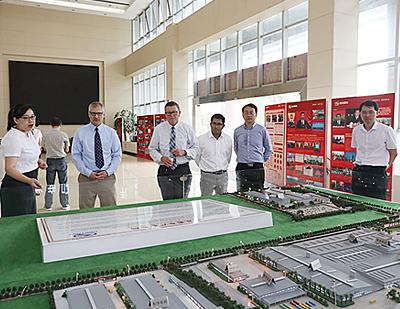 Cablecraft team tour at KLM's Cloud Valley Tech Center
