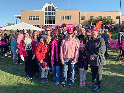 Cablecraft recently participated in the Making Strides Breast Cancer Walk