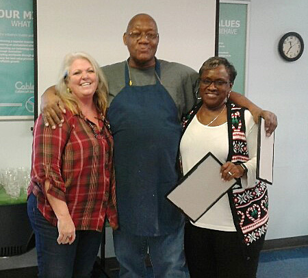 Congratulations to Herbert Cunningham for 20 years of service at Cablecraft