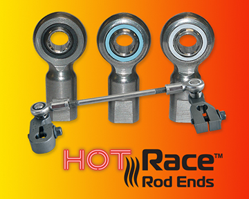 High temperature rod ends and linkages from Cablecraft