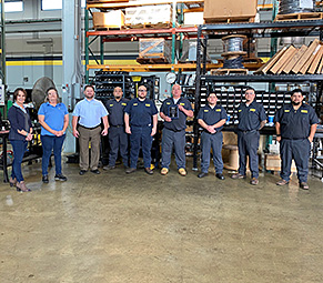 Hydradyne in San Antonio is the number 10 top assembler in 2020 for Cablecraft