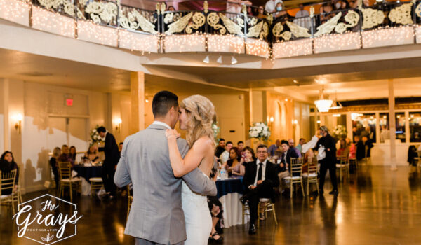 First Dance at Wedding at Madrid Theatre
