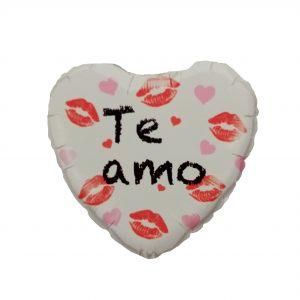 Globo Metalizado Te Amo Besos