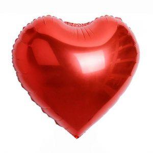 Globo Metalizado Corazón
