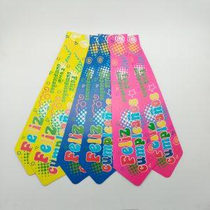 Corbatas Feliz Cumpleaños
