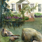 Historic House - Watercolor