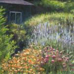 Back Yard Garden - Acrylic