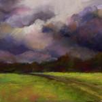 Break in the Clouds - Pastel