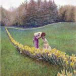 Daffodil Line - Pastel