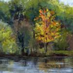 Fall Colors, Gallup Park - Acrylic